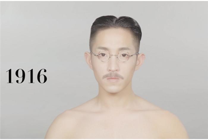 中国人男性の年代別流行ヘアスタイルを見事に再現