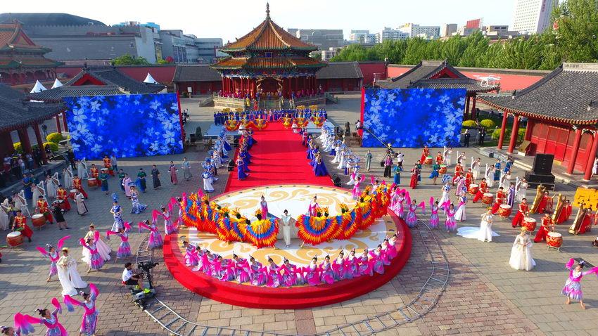 第1回中国チャイナドレス文化祭が開幕 遼寧省瀋陽市